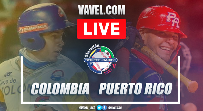 Highlights and scores: Colombia 1-2 Puerto Rico on 2021 Serie del Caribe