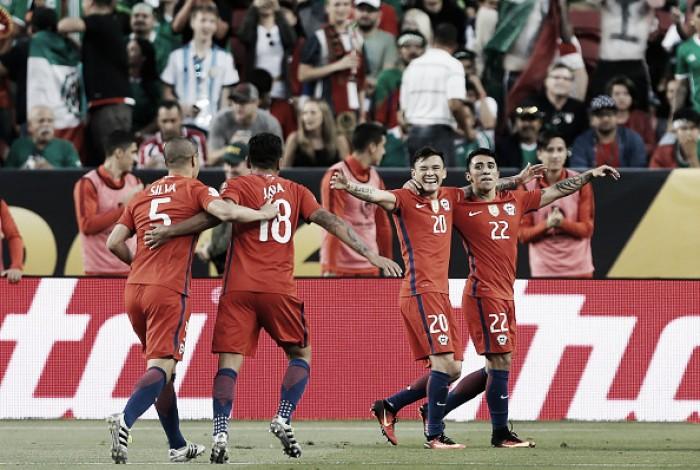 Batalhando por lugar na final da Copa América, Chile e Colômbia se enfrentam no Soldier Field