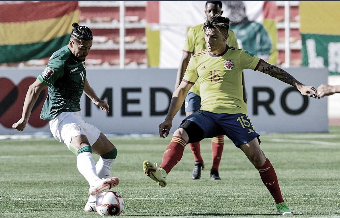 Los datos que dejó el empate entre Bolivia y Colombia