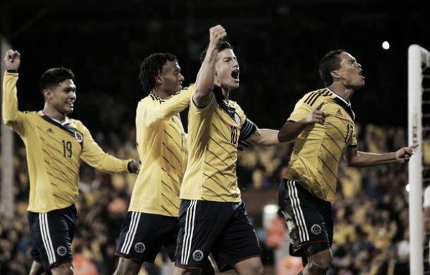 Colombia remontó ante Estados Unidos y logró la victoria