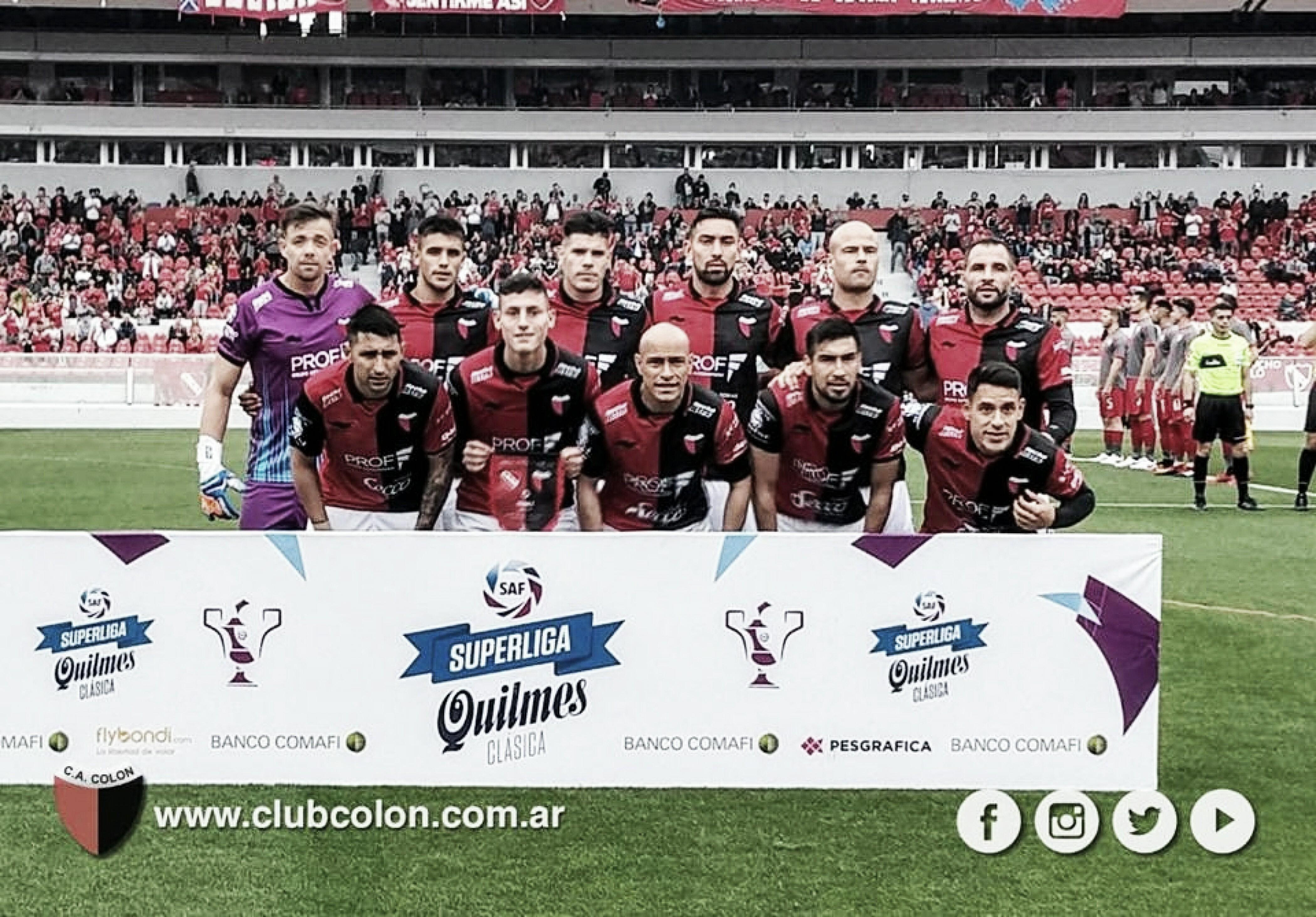 Así llega Colón ante Godoy Cruz