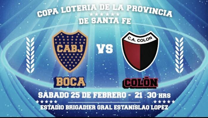 Colón vs Boca: Amistoso de pretemporada