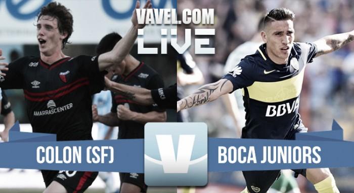 Resultado de Colón 1-2 Boca Juniors en Torneo de la Independencia 2017