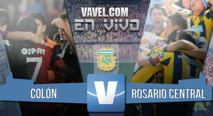 Resultado de Colón - Rosario Central por el Torneo de Transición 2016 (0-3)