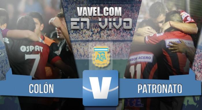 Colón 2-2 Patronato: resultado que los aleja de la pelea