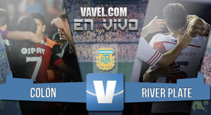 Colón 4-1 River Plate: Goleada en Santa Fe