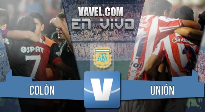 Colón 0-3 Unión: goleada Tatengue