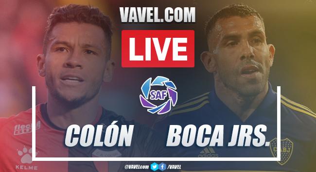Goles y Resumen: Colón 0-4 Boca Juniors, en Superliga 2020