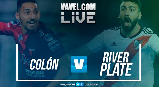 Resumen Colón 1-0 River Plate en Superliga 2018