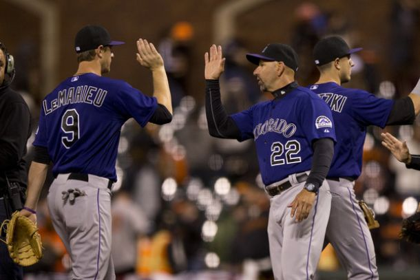 Rockies Pick Up Series Win In 4-1 Victory over Giants