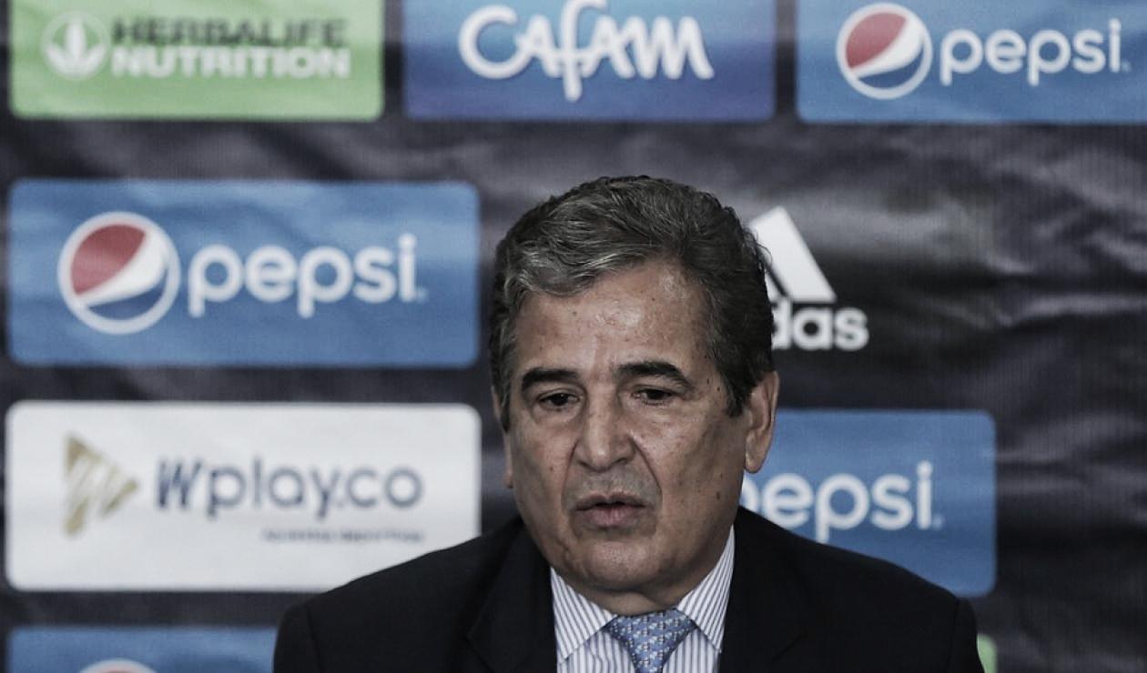 """Jorge Luis Pinto: """"No tuvimos claridad total, tengo que reconocer que faltó algo"""""""