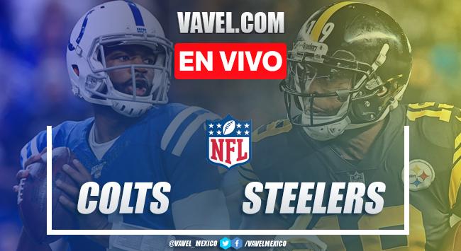 Resumen y touchdowns: Indianápolis Colts 24-26 Pittsburgh Steelers en NFL 2019
