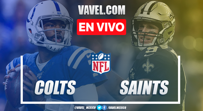 Resumen y Touchdowns: Indianapolis Colts 7-34 New Orleans Saints en NFL 2019