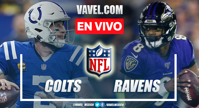 Touchdowns y Resumen del Colts 25-31 Ravens en la Semana 5 de la NFL