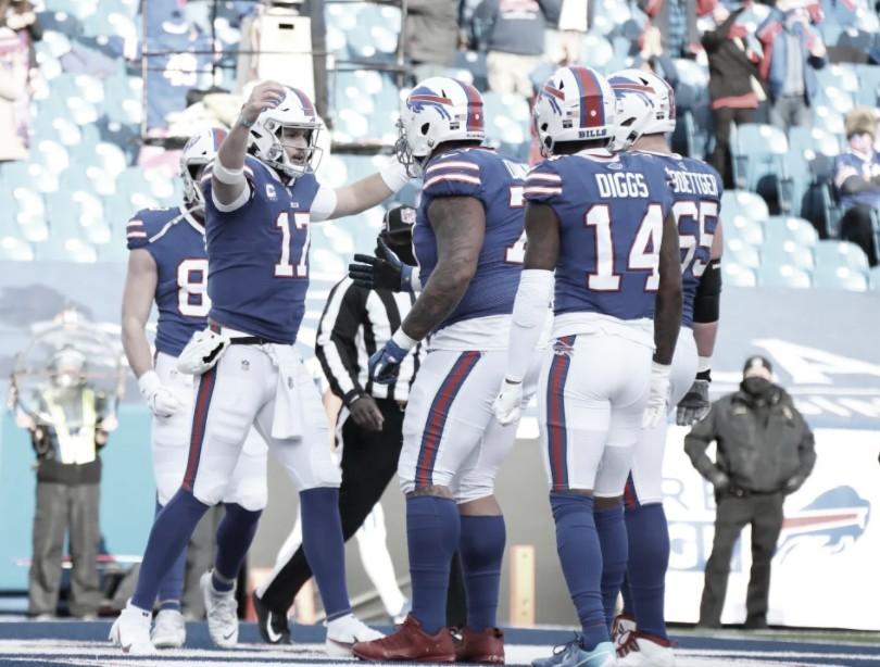 Bills se aproveitam de erros dos Colts e avançam nos playoffs da NFL