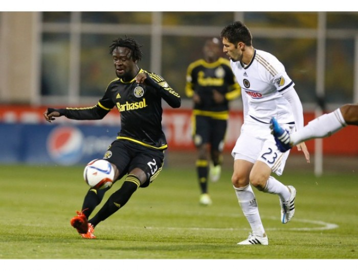 Result Columbus Crew SC 1-2 Philadelphia Union in 2016 MLS