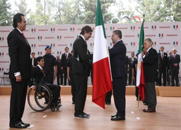 Abanderada la delegación mexicana para Sochi 2014
