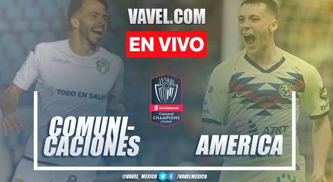 Resumen y goles: Comunicaciones 1-1 América en CONCACAF Liga de Campeones 2020