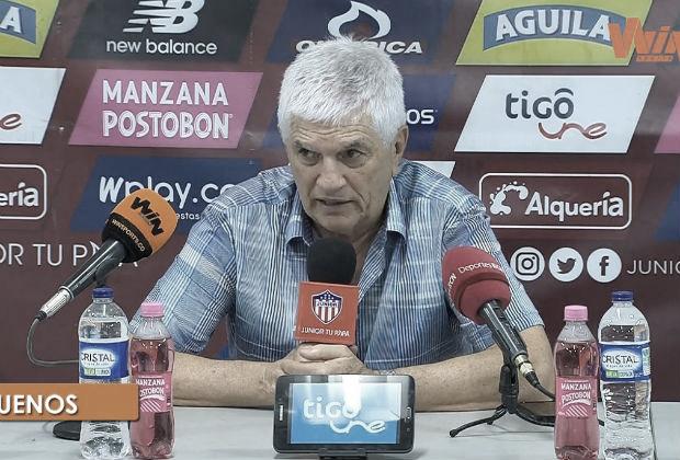 """Julio Comesaña: """"Estoy feliz con el equipo"""""""