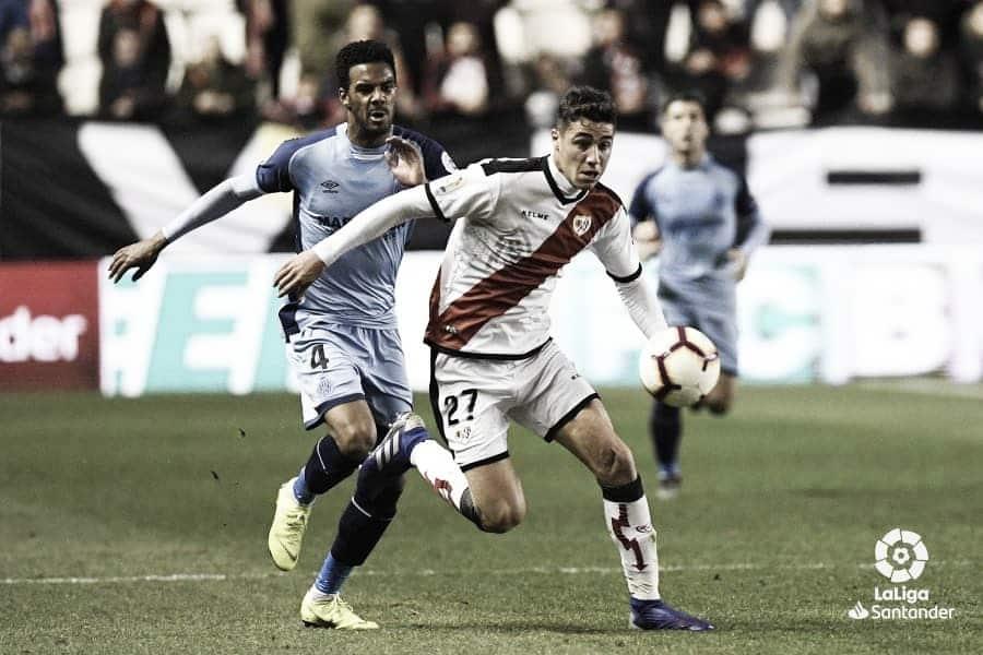 Estadísticas del Rayo Vallecano - Girona en la jornada 26 de Primera División