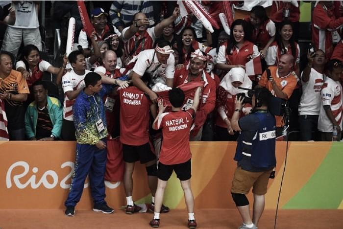 Dupla mista da Indonésia vence e leva o ouro no Badminton