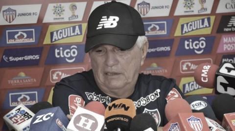 """Julio Comesaña: """"El equipo se encuentra en una condición aceptable para enfrentar a Tolima"""""""