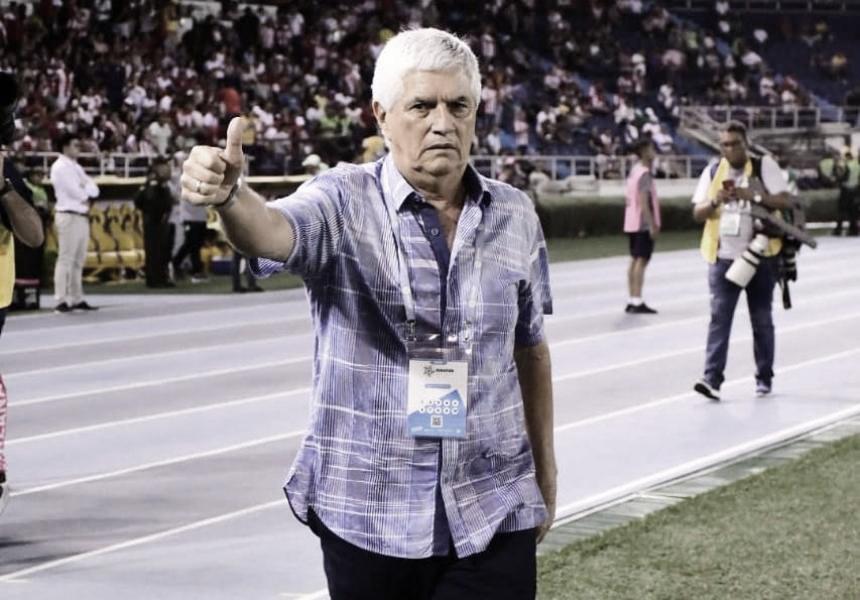"""Julio Comesaña: """"El mérito de este partido se lo doy a todos los jugadores"""""""