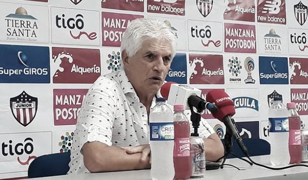 """Julio Comesaña: """"Me pareció liviano el equipo"""""""