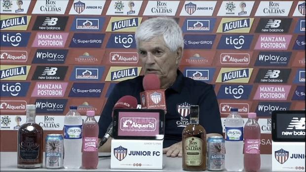 """Julio Comesaña: """"Me voy contento con el triunfo, Tolima es complicado"""""""