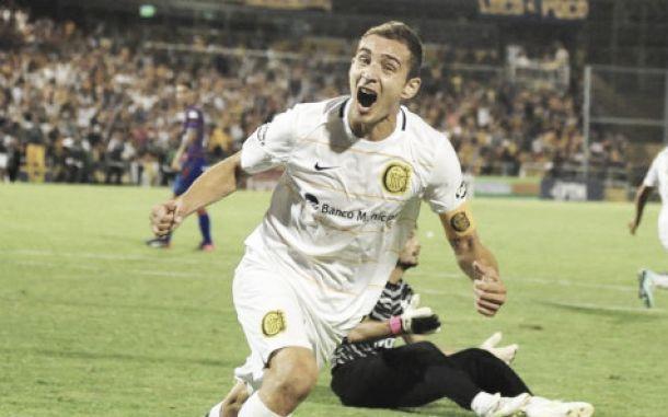 Primer semestre 2015: con sus goles Marco Ruben fue el más destacado
