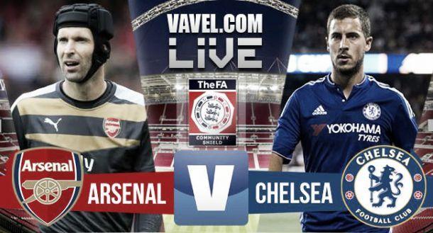Risultato Arsenal - Chelsea, Community Shield 2015 (1-0)