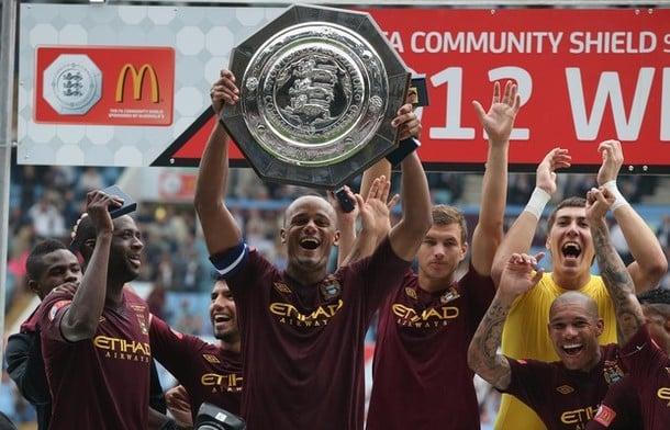 Il Machester City vince la Community Shield