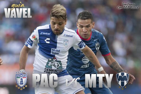 Pachuca vs Monterrey: cómo y dónde ver semifinales Copa MX, canal y horario TV
