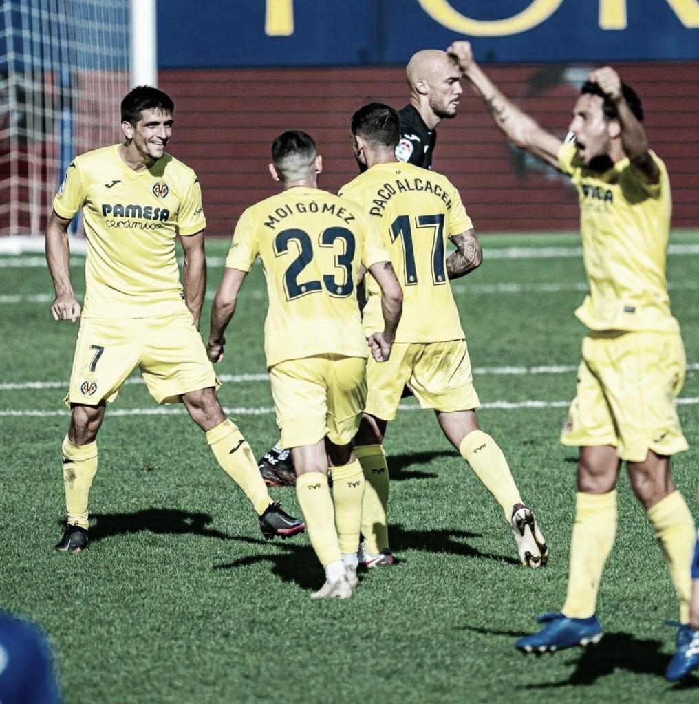 Un gran Villarreal se impone ante un poco reconocible Eibar