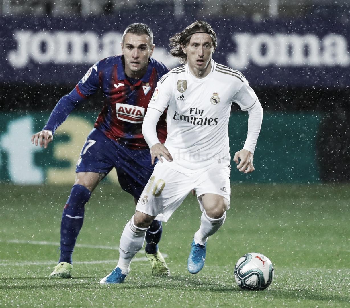 Real Madrid - Eibar, un balance muy poco balanceado
