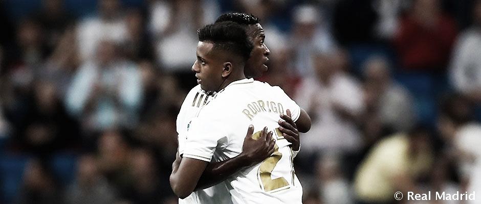 Vinícius y Rodrygo se sitúan entre los 20 finalistas del Golden Boy