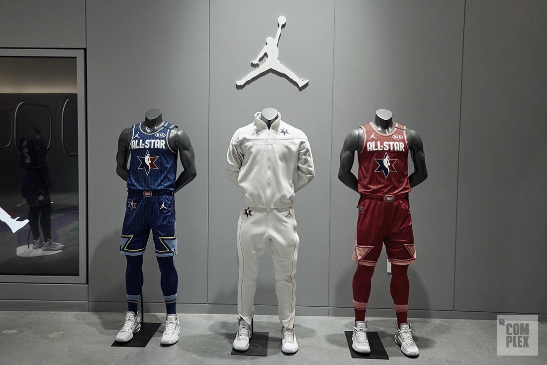 NBA All-Star uniforms unveiled