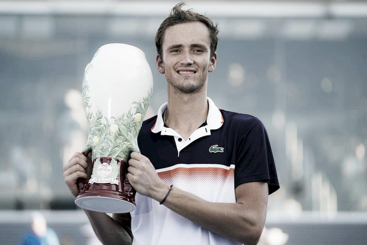 Medvedev se consagró campeón en Cincinnati