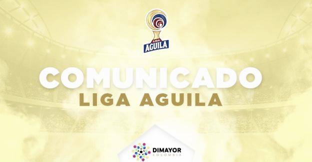 Dimayor realiza cambios en la programación de algunos juegos en la Liga Águila 2019-I