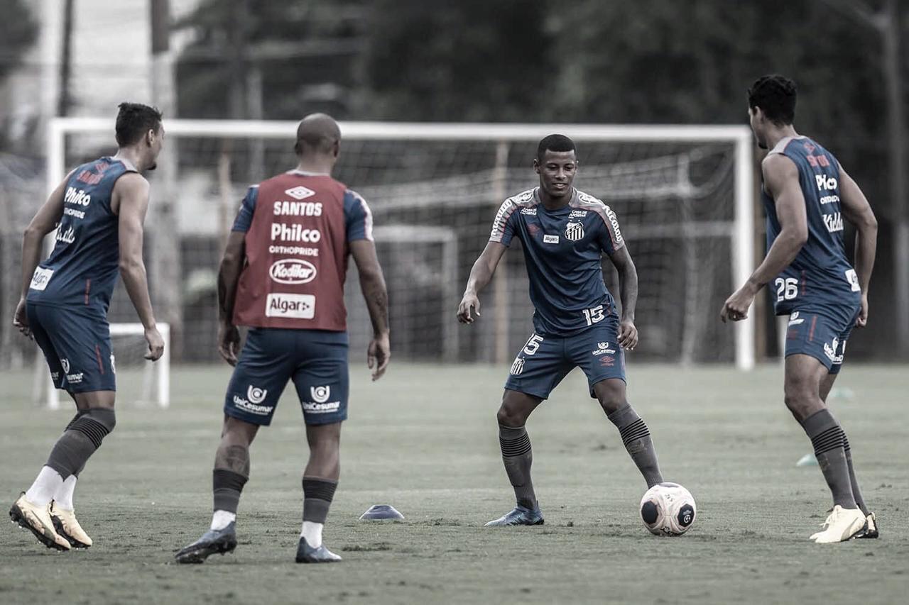 Santos informa jogadores que não há previsão de retorno aos treinos