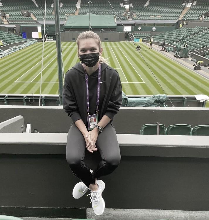 Simona Halep no defenderá su título en Wimbledon