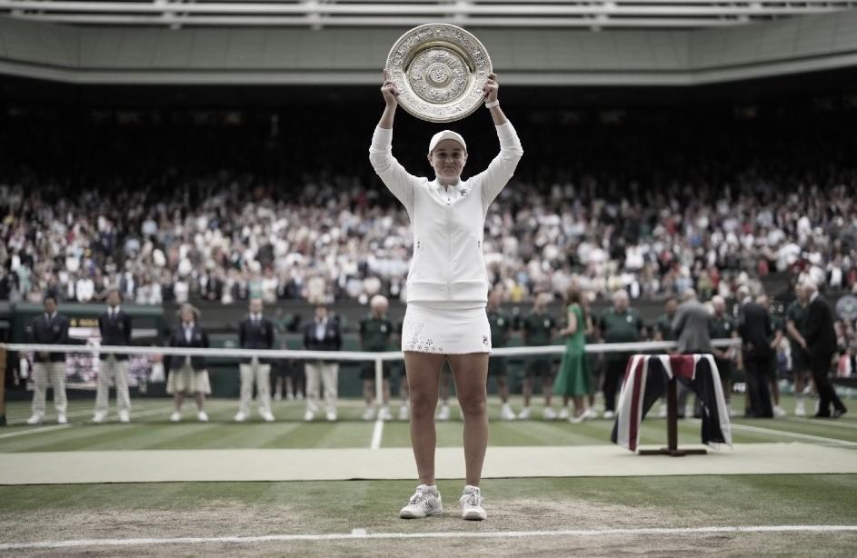 Barty, en la cima de Wimbledon
