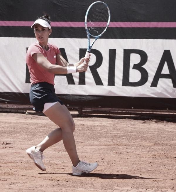 Verónica Cepede: La incansable abanderadadel tenis paraguayo