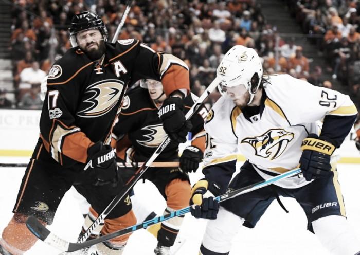 Anaheim Ducks esta tratando cambiar a un Ryan Kesler lesionado