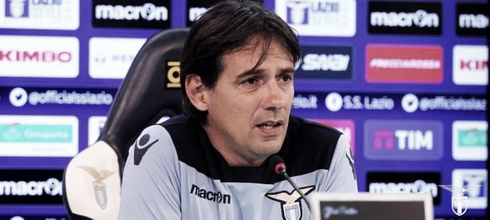 """Lazio, Inzaghi: """"Dovremo fare un'impresa. Keita o Felipe? Ancora non lo so"""""""