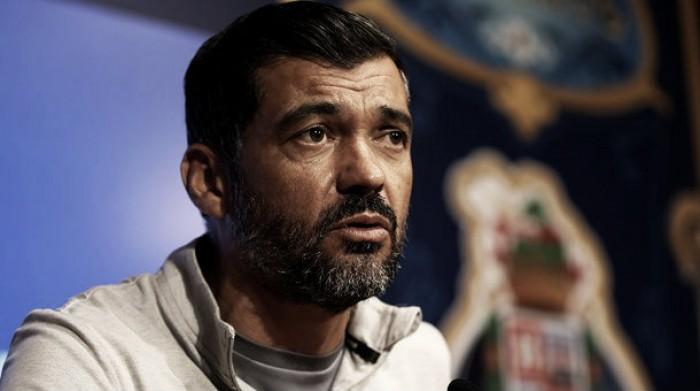 """Sergio Conceição: """"Estamos determinados en lograr los tres puntos"""""""