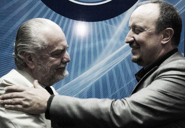 Napoli, Benitez e De Laurentiis si salutano, finisce l'avventura in azzurro del tecnico spagnolo
