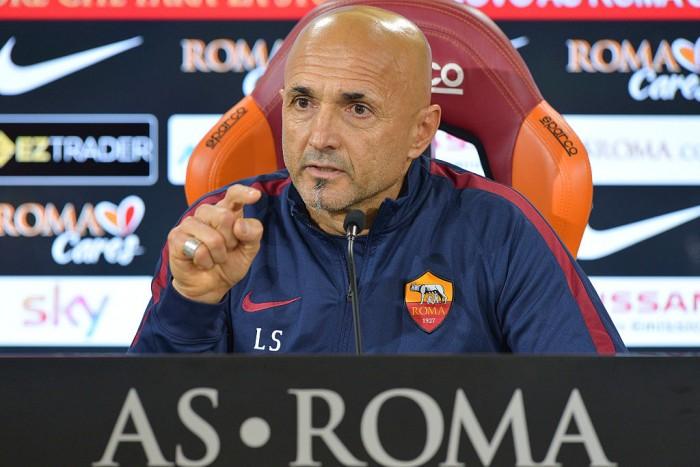 """Roma, Spalletti in conferenza prima dell'Inter: """"Loro sono forti e in equilibrio, stiamo attenti"""""""