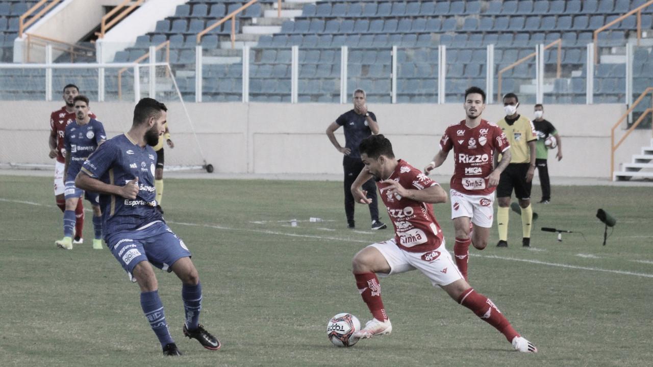 Confiança bate Vila Nova e se recupera na tabela da Segundona do Brasileirão