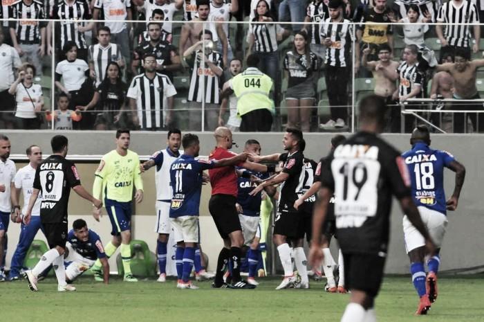 STJD absolve Atlético Mineiro e Cruzeiro por confusões no último clássico no Independência